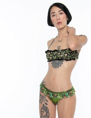 Costume F**K bikini slip lurex
