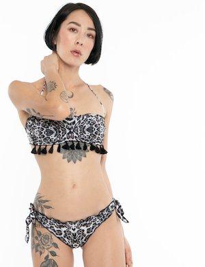 Costume F**K bikini animalier