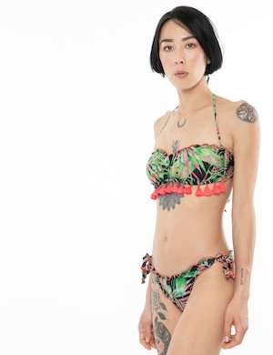 Costume F**K bikini tropical