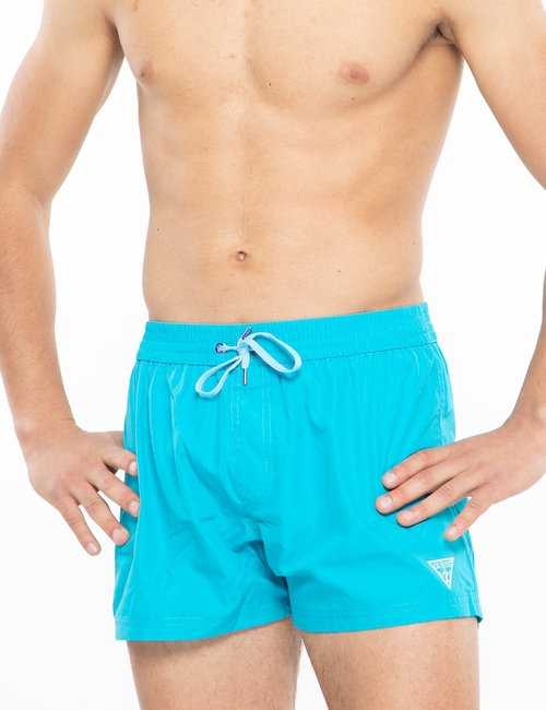 Costume Guess pantaloncino - Azzurro
