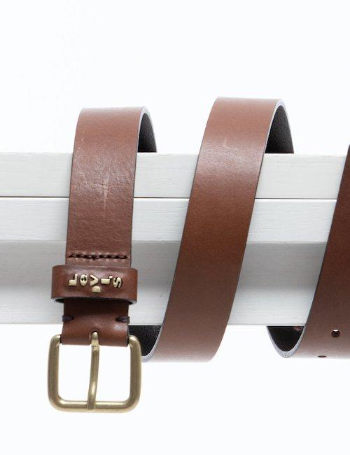 Cintura Levi's in pelle - Brown