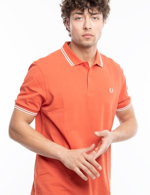 Polo Fred Perry con doppia riga