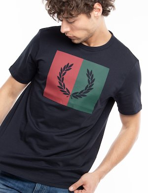 T-shirt Fred Perry con logo