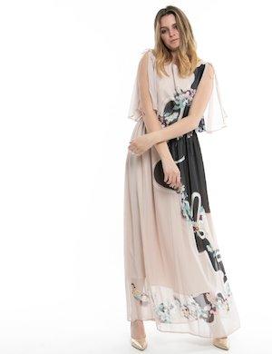 Vestito lungo Fracomina stampato