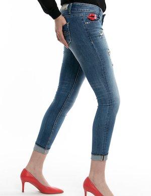 Jeans Fracomina con applicazioni