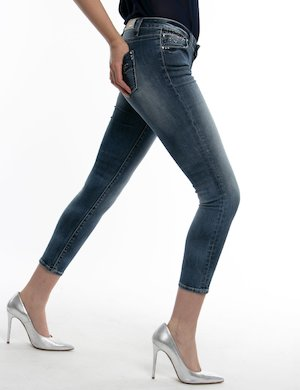 Jeans Fracomina con tasca decorata