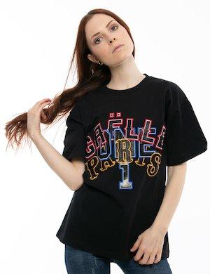 89a2d4f416fa T-shirt GAeLLE con scritte applicate