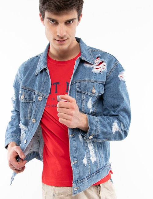 Giacca Gianni Lupo jeans - Jeans