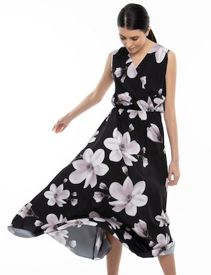 Vestito Vougue lungo a fiori