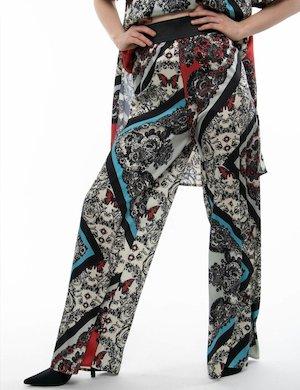 Pantalone palazzo TOY G stampato