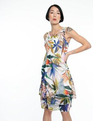 Vestito Vougue fantasia floreale