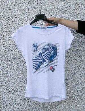 T-shirt Yes Zee stampa estiva