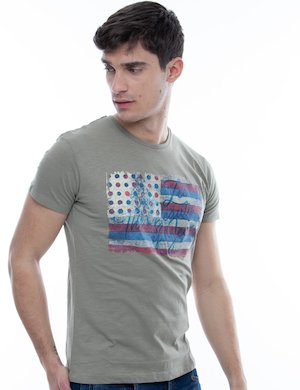T-shirt Yes Zee con grafica