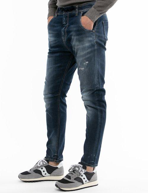 Jeans Fifty Four effetto consumato - Jeans