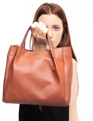 Borsa Pepe Jeans a tracolla in ecopelle