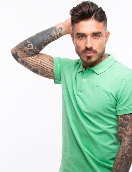 Polo Pepe Jeans in cotone - Verde
