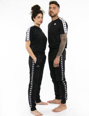 Pantalone Kappa con vita elasticizzata