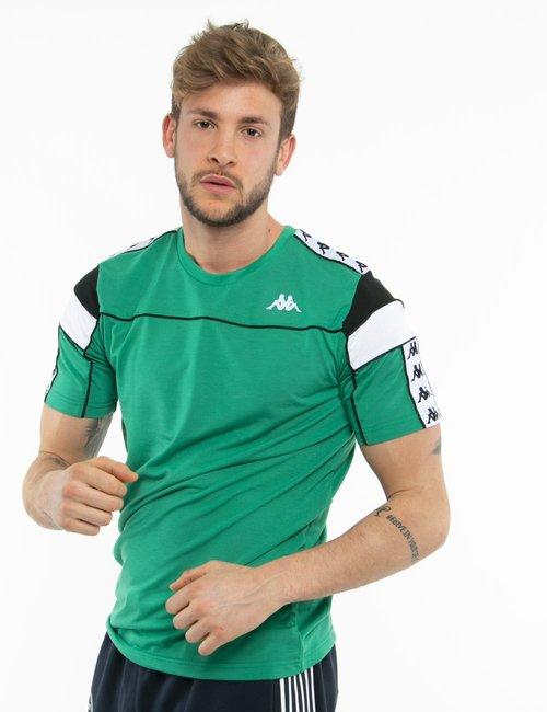 T-shirt Kappa con logo - Verde