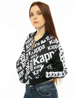 Felpa Kappa con logo all-over