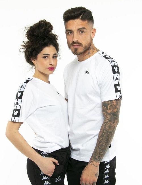 T-shirt Kappa Mickey Mouse - Bianco