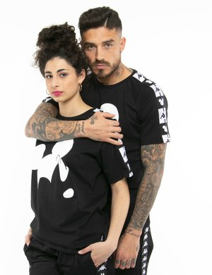 T-shirt Kappa con stampa Mickey Mouse