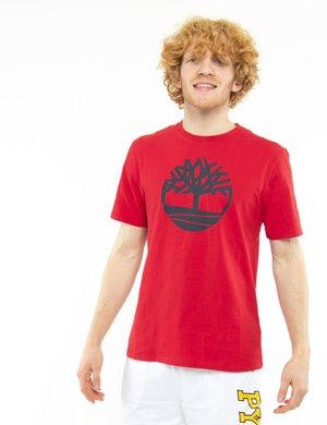 T-shirt Timberland con logo circolare