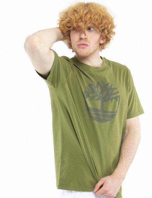 T-shirt Timberland con logo circolare - Verde