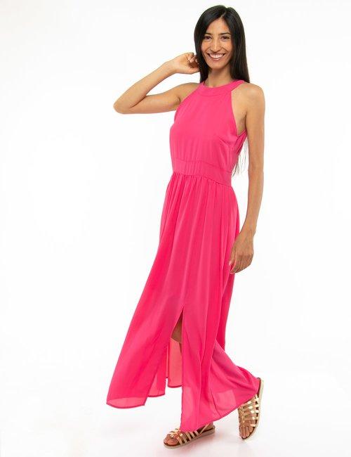 Vestito Vougue con spacco laterale - Rosa