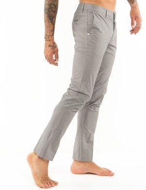 Pantalone Dimattia tessuto con microlinee