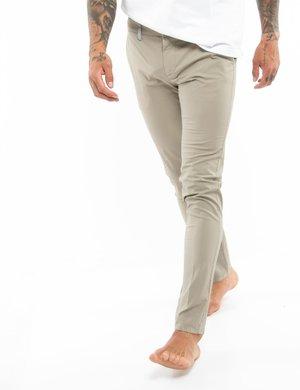 Pantalone Dimattia tessuto in rilievo