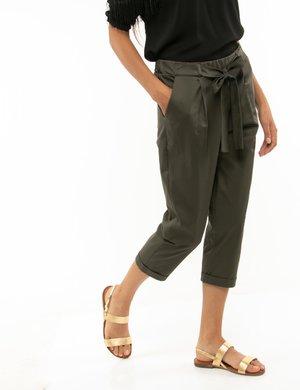 Pantalone Vougue con risvolto