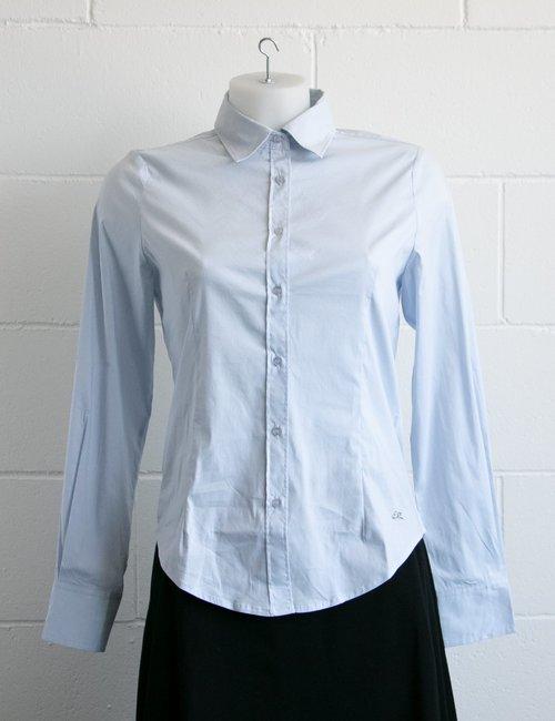 Camicia Yes Zee a maniche lunghe - Azzurro