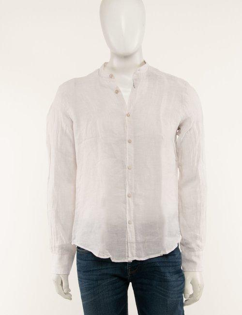 Camicia Yes Zee in lino - Beige