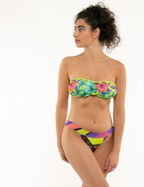 Costume F**k bikini floreale - Fantasia