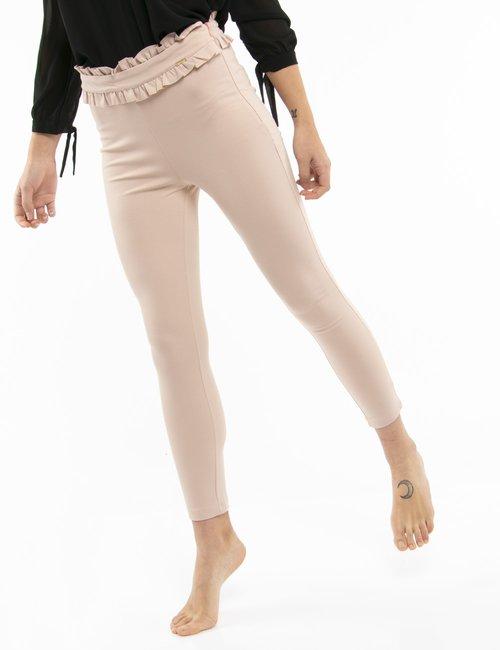 Pantalone Fracomina con fascia arricciata - Rosa