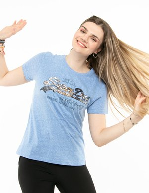 T-shirt Superdry con paillettes