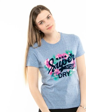 T-shirt Superdry floreale