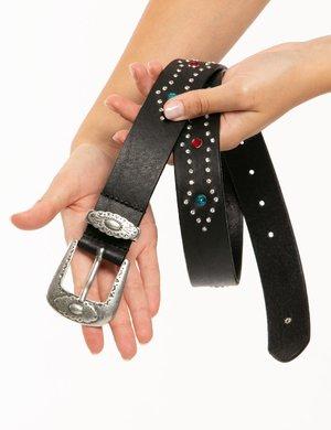 Cintura Pepe Jeans con pietre e strass
