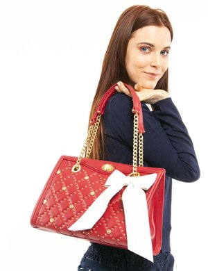 Borsa Guess in pelle con decorazioni