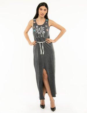 Vestito Imperfect con spacco anteriore