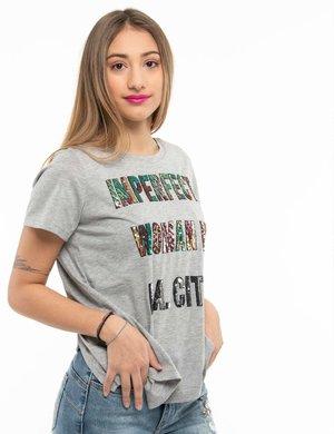 T-shirt Imperfect con paillettes