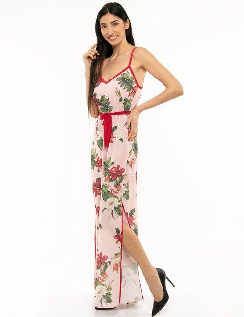 Vestito Imperfect floreale - Rosa
