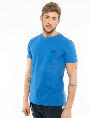 T-shirt Superdry con logo ricamato