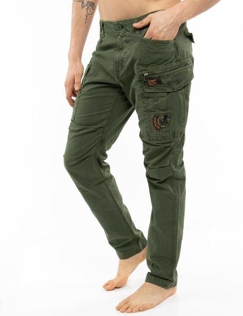 Pantalone Superdry con tasconi - Verde