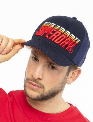 Cappellino Superdry con logo in rilievo