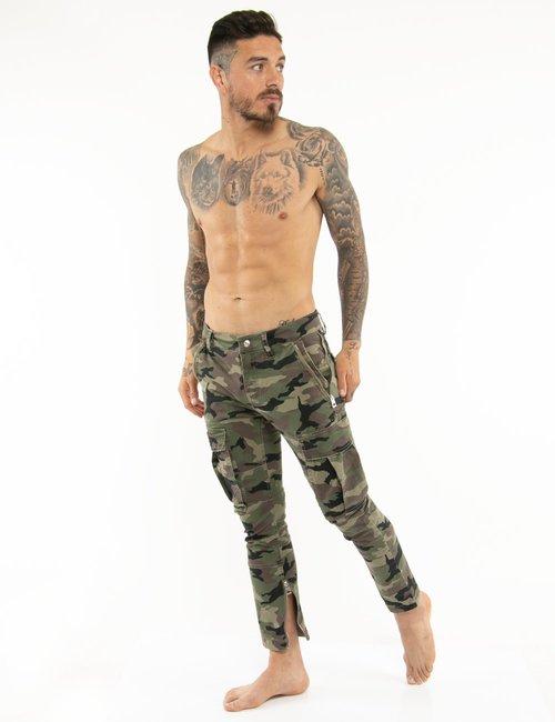 Pantalone Guess con tasconi - Verde