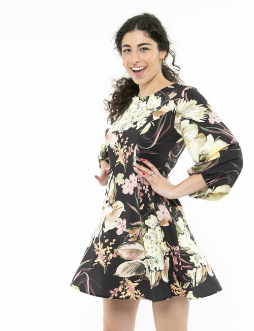 Vestito Vougue floreale - Fantasia