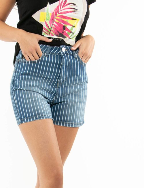 Shorts Yes Zee a righe - Jeans
