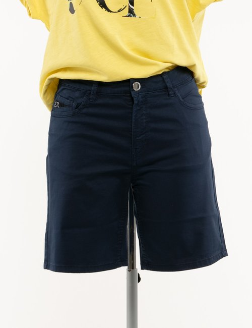 Shorts Yes Zee in cotone - Blu