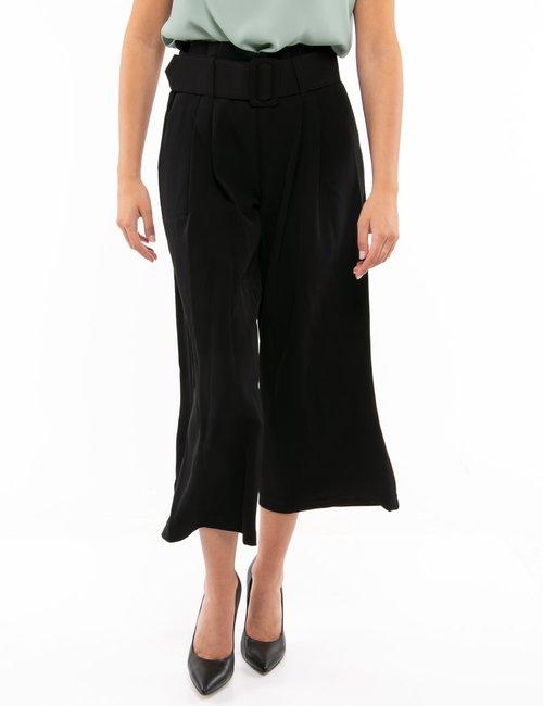 Pantalone Yes Zee con cintura - Nero